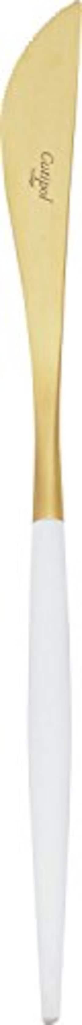クチポール テーブル ナイフ GOA ゴールド×ホワイト GO.03WGB