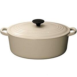 ルクルーゼ ココット オーバル ホーロー 鍋 IH 対応  27cm デューン 2502-27-68