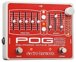 electro-harmonix エレクトロハーモニクス エフェクター ポリフォニックオクターブジェネレーター POG2 【国内正規品】