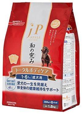 ジェーピースタイル 和の究み トータルボディケア 1~6歳までの成犬用1.8kg