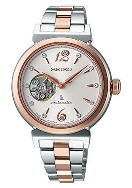 [セイコー ルキア]SEIKO LUKIA 腕時計 メカニカル 自動巻 レディース SSVM010 機械式 スワロフスキー スケルトン[国内正規品]
