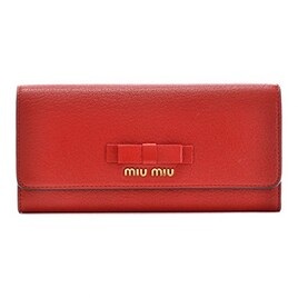 MIUMIU(ミュウミュウ) 二つ折り 財布 マドラス 二つ折り長財布 5MH109 3R7 JU2 [並行輸入品]