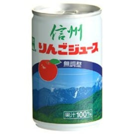 長野興農 信州りんごジュース 無調整 160g缶×30本入