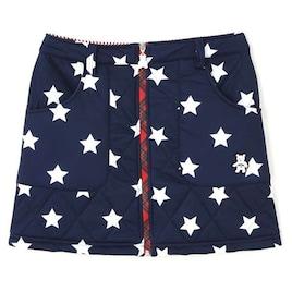 Callaway Golf スカート BEAR星&ストライププリント中綿スカート
