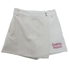 CUARTO UNITED スカート ケーブルキュロットスカート G2120