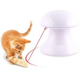 猫 光るおもちゃ LEDポインター 4段階スピード調整トレーニング