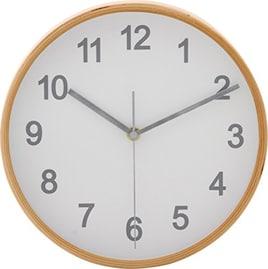 不二貿易 掛け時計 プライウッド 直径22cm 85360