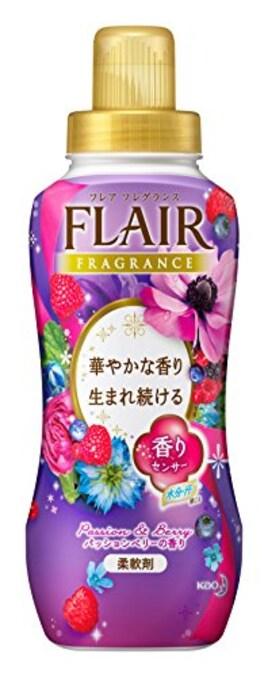 フレアフレグランス 柔軟剤 パッション&ベリーの香り 本体 570ml
