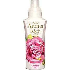 ソフラン アロマリッチ 柔軟剤 ダイアナ(ロイヤルローズの香り) 本体 600ml