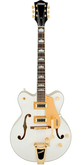 G5422TG Electromatic Hollow Body Double-Cut with Bigsby Snow Crest White