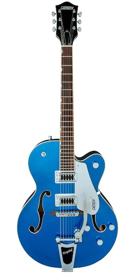 GRETSCH G5420T Electromatic Fairlane Blue Hollow Body Single-Cut with Bigsby