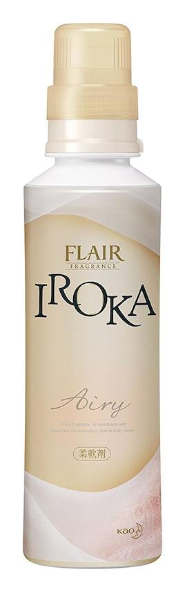 フレアフレグランス 柔軟剤 IROKA(イロカ) Airy(エアリー) 本体 570ml