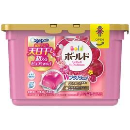 ボールド 洗濯洗剤 ジェルボール Wプラチナ プラチナブロッサム&ピオニーの香り 本体 352g(18個入)