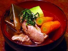 沖縄風豚スペアリブのお吸い物 ソーキ汁