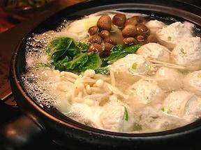人気レシピ 鶏のつくね鍋