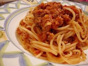 ボロネーゼ(ミートソースのスパゲティー)