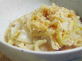 10分で簡単!白菜と舞茸の煮浸しレシピ