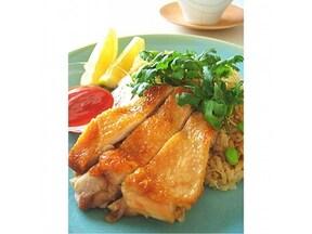 炊飯器で出来る、海南チキンライス