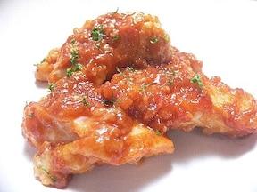 玉ねぎが隠し味!鶏肉のケチャップ焼き