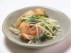 人気の水菜をキムチの素でアレンジレシピ