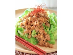 簡単レシピ! あっさり回鍋肉サラダ