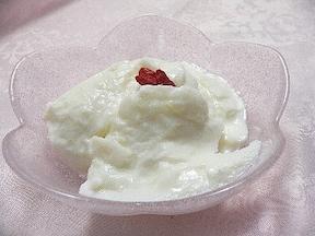 寒天を使った柔らか牛乳デザート♪