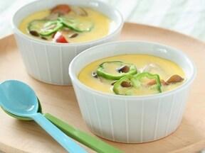 おしゃれ&身体に優しい味が人気! フライパンで作る洋風茶碗蒸し