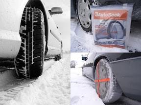 布製タイヤチェーン「オートソック」は簡単に着脱出来るので、都心のドライバーはお守り代わりに持っておくのもアリ