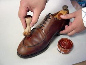 スムースレザー靴の手入れ法