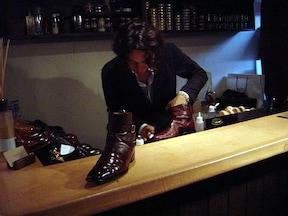 ちなみにお店は「靴磨き屋さんの既成概念を打ち破った!」という『Brift H (ブリフト アッシュ)』