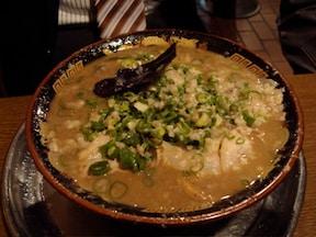 濃厚過ぎるスープが売り『無鉄砲』