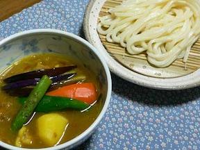 チキンと夏野菜のスープカレー