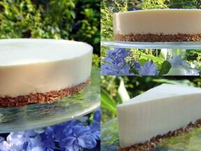 オーブン不要! 混ぜて待つだけ簡単チーズケーキ