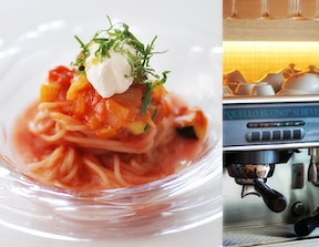 夏野菜をたっぷり使って作る冷製フェデリーニ