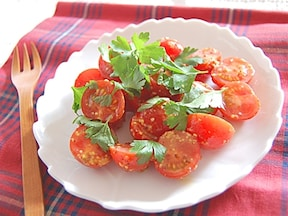 5分で簡単!プチトマトのハニーマスタードサラダ