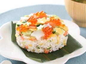 七夕の星空ちらし寿司