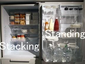 目指すは料理研究家の冷蔵庫!
