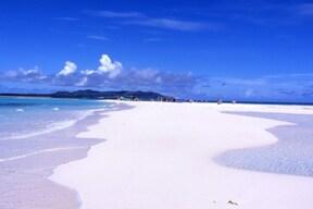 まるで天国!砂浜だけの無人島