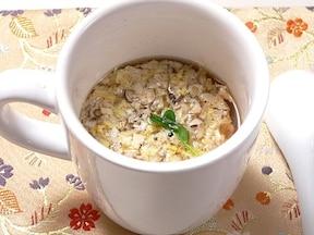 マグカップで作るえのきスープ