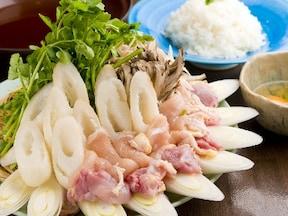 伝統の「きりたんぽ鍋」