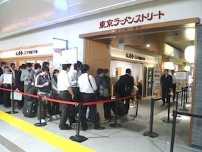 人気ラーメン店が集結「東京ラーメンストリート」
