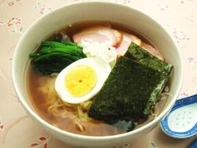 魚介ダシのスープが決め手 あっさり醤油ラーメン
