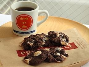 簡単チョコレート&マシュマロクッキー