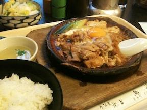 鳥鍋御飯の「鳥徳」(茅場町)