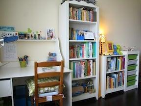 子供の部屋もIKEAのキャビネットで素敵にコーディネート
