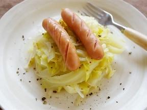 春キャベツをシンプルに味わう温サラダ