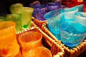 沖縄土産は「琉球グラス」