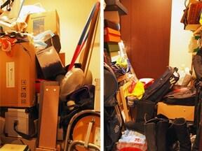 開かずの間と化した納戸を無印マジックで整理整頓