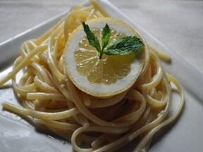 「丸ごとレモンクリームのリングイネ」は本場イタリアのおいしいソース