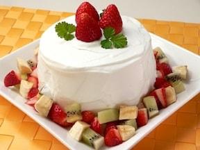 フルーツシフォンケーキ